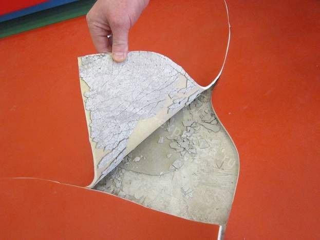 Экспертиза напольного покрытия