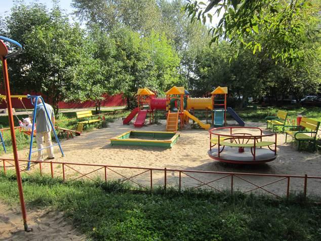 нормы строительства детских площадок