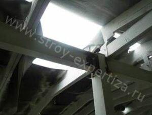 Экспертиза технического состояния металлоконструкций здания