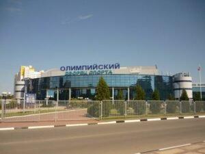 Проверка покрытия пола из паркета в помещении спортивного зала МУ «ДС «Олимпийский» в Чехов Московской области