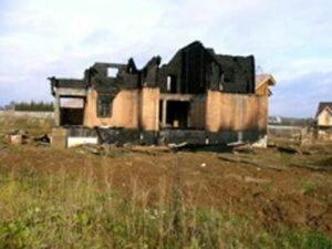 Диагностика несущих конструкций дома после пожара М.О.