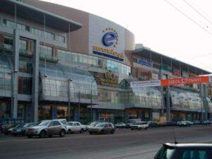 Обследование конструкций остекления в здании ТЦ «Европейский», г.Москва