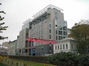 Обследование несущих и ограждающих конструкций 1-го и 2-го этажей административного здания, г.Москва